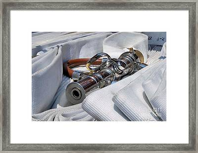 Put To Bed Framed Print