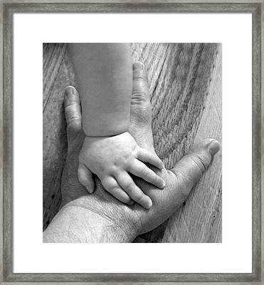 Put Your Hand In Mine Framed Print by Photographic Arts And Design Studio