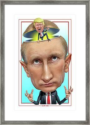 Putin 2016 Framed Print