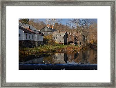 The Wikipedia Photo Of Putney Vt Framed Print