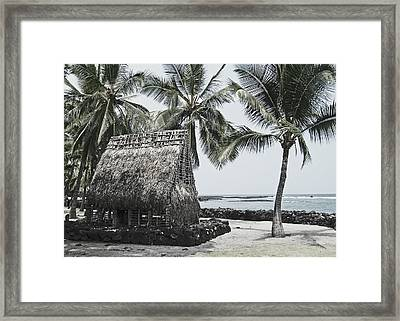 Pu'uhonua O Honaunau National Park Framed Print