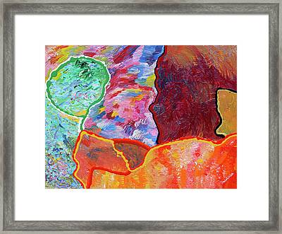 Puzzle Framed Print by Ralph White