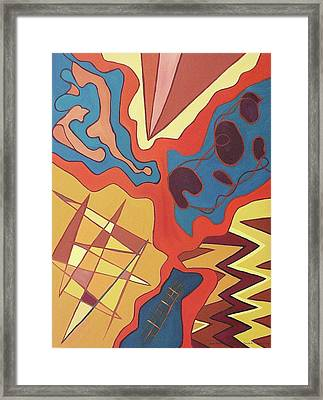 Puzzle Framed Print by Suzanne  Marie Leclair