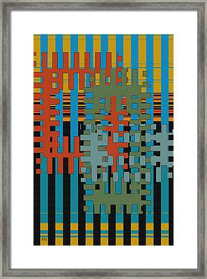 Puzzled Framed Print by Ben and Raisa Gertsberg