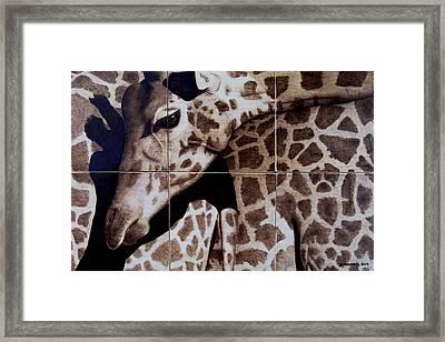 Puzzled Framed Print by Jo Schwartz
