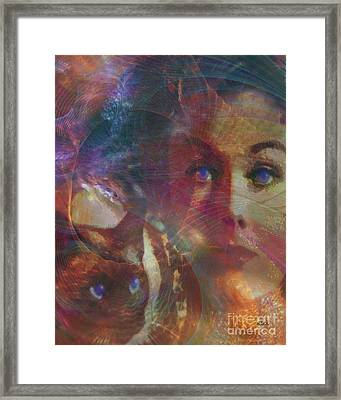 Pyewacket And Gillian Framed Print