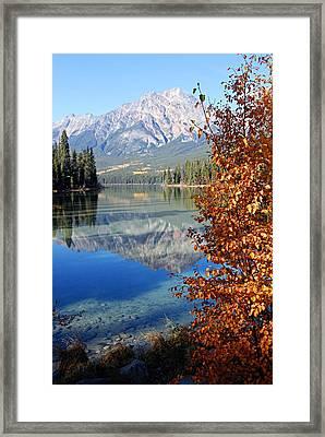 Pyramid Mountain Reflection 2 Framed Print