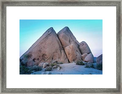Pyramids At Live Oak Framed Print
