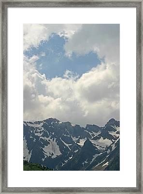 Pyrenees Beyond Words Framed Print by Dagmar Batyahav