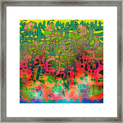 Pyschedelic Alba Framed Print by Grant  Wilson