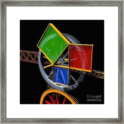 Pythagorean Machine Framed Print
