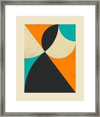 Pythagorean Triad 8 Framed Print