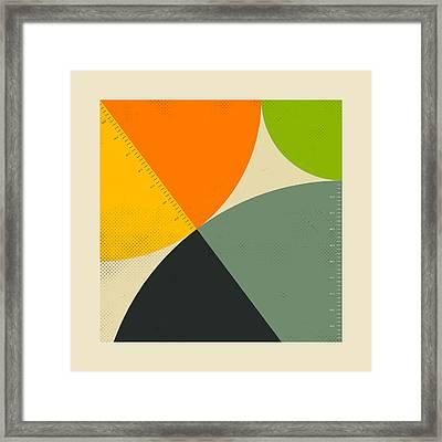 Pythagorean Triad 9 Framed Print
