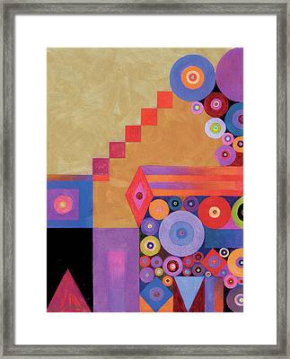 Pythagorus' Abstract I Framed Print by Bob Coonts