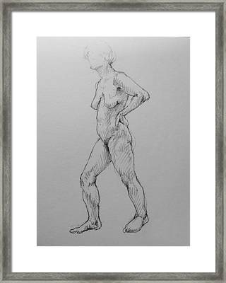 Pythia Framed Print by Chris  Riley