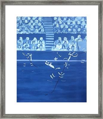 Q N Framed Print by Ken Yackel