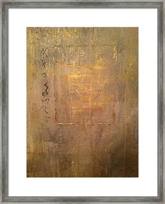 Qian Framed Print