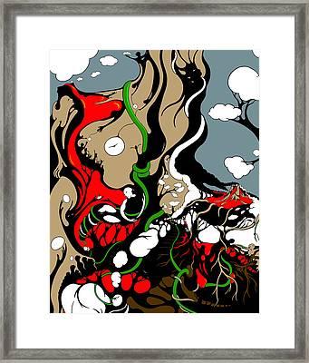 Quad Epoch Mothers 4 Vines Framed Print