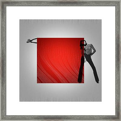 Quad Framed Print by Naxart Studio