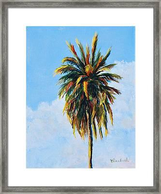 Quad Palms 4 Of 4 Framed Print by Beth Maddox