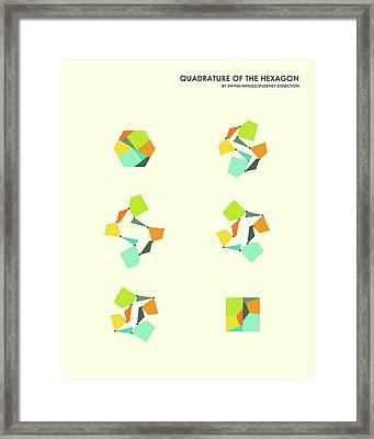 Quadrature Of The Hexagon Framed Print