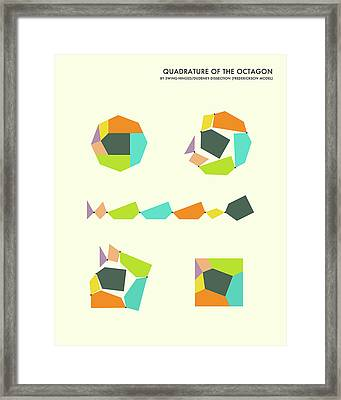 Quadrature Of The Octagon Framed Print