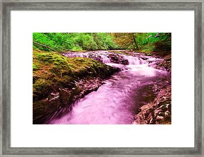 Quaint Water Framed Print