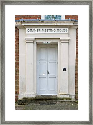 Quaker Meeting House Framed Print by Tom Gowanlock
