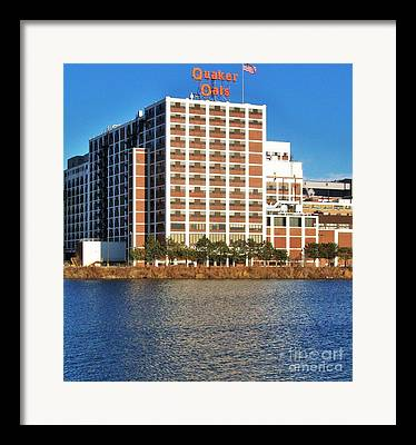 Main Stay Of Cedar Rapids Framed Prints