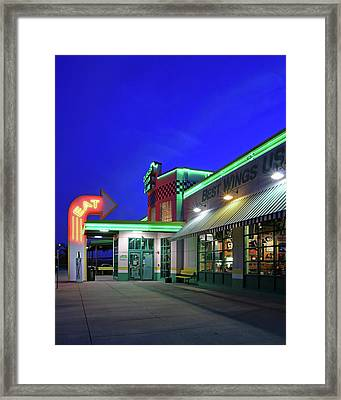 Quaker Steak And Lube Framed Print