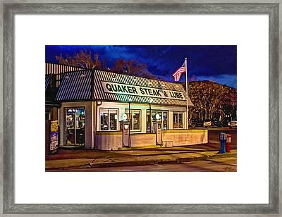 Quaker Steak And Lube Framed Print by Skip Tribby