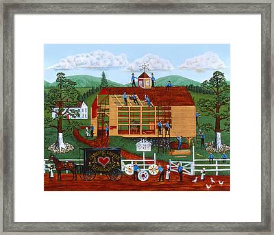 Quakers Acres Framed Print by Joseph Holodook