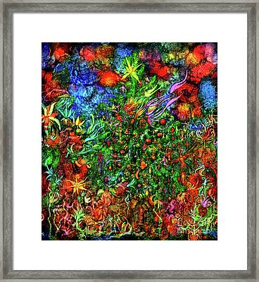 Qualia's Christmas Framed Print by Russell Kightley