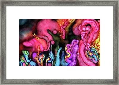 Qualia's Spawn Framed Print by Russell Kightley