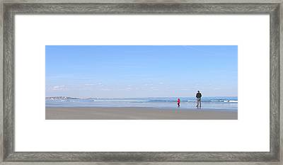 Quality Time II Framed Print by Laura Lee Zanghetti