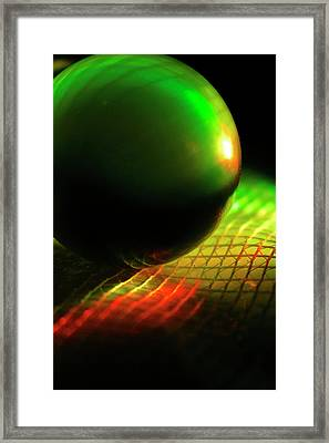 Quantum Cosmos Framed Print by Christopher Phelps