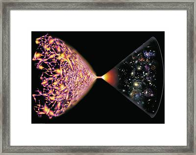 Quantum Cosmos Framed Print by Don Dixon