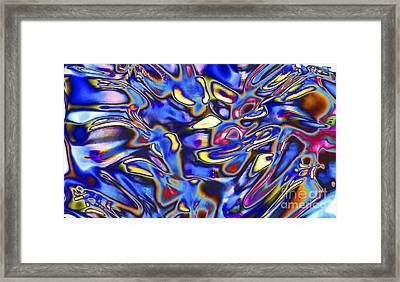Quantum Entangled Soul... Framed Print by Nina Stavlund