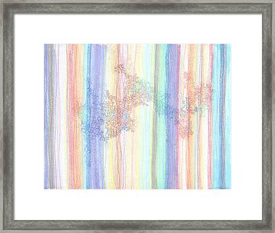 Quantum Foam Framed Print
