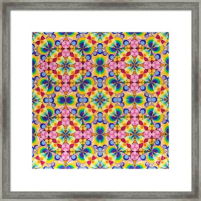 Quantum Froth Framed Print by Nofirstname Aurora