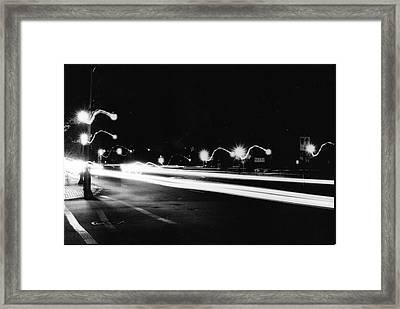 Quantum Jump Framed Print by Ravi Lee