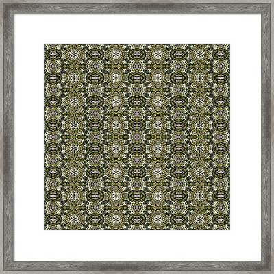 Quantum Pattern 1 Framed Print by Quantum Space