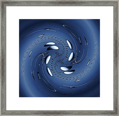 Quantum Physics 2 Framed Print by Rudolph Horvath