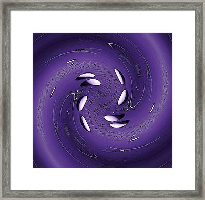 Quantum Physics 3 Framed Print by Rudolph Horvath
