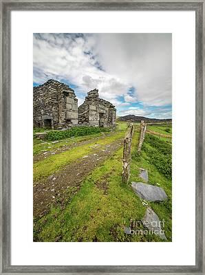 Quarry Cottage  Framed Print by Adrian Evans