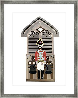 Quarterjack Framed Print by Isobel Barber