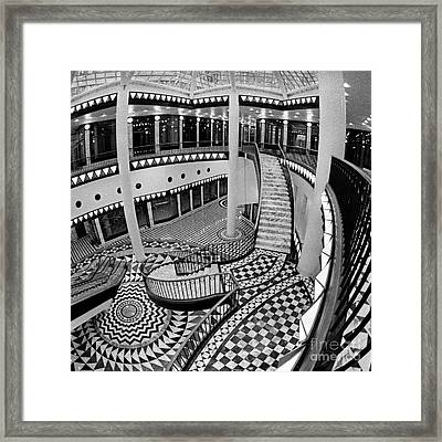 Quartier 206 In Berlin East Framed Print