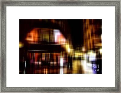 Quartier Latin Framed Print by John Rizzuto