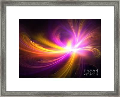 Quasi-stellar Framed Print