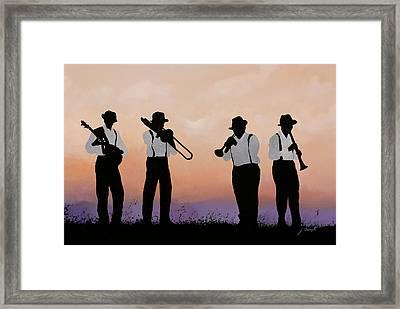 Quattro Framed Print
